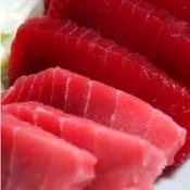 吞拿魚刺身 (1)